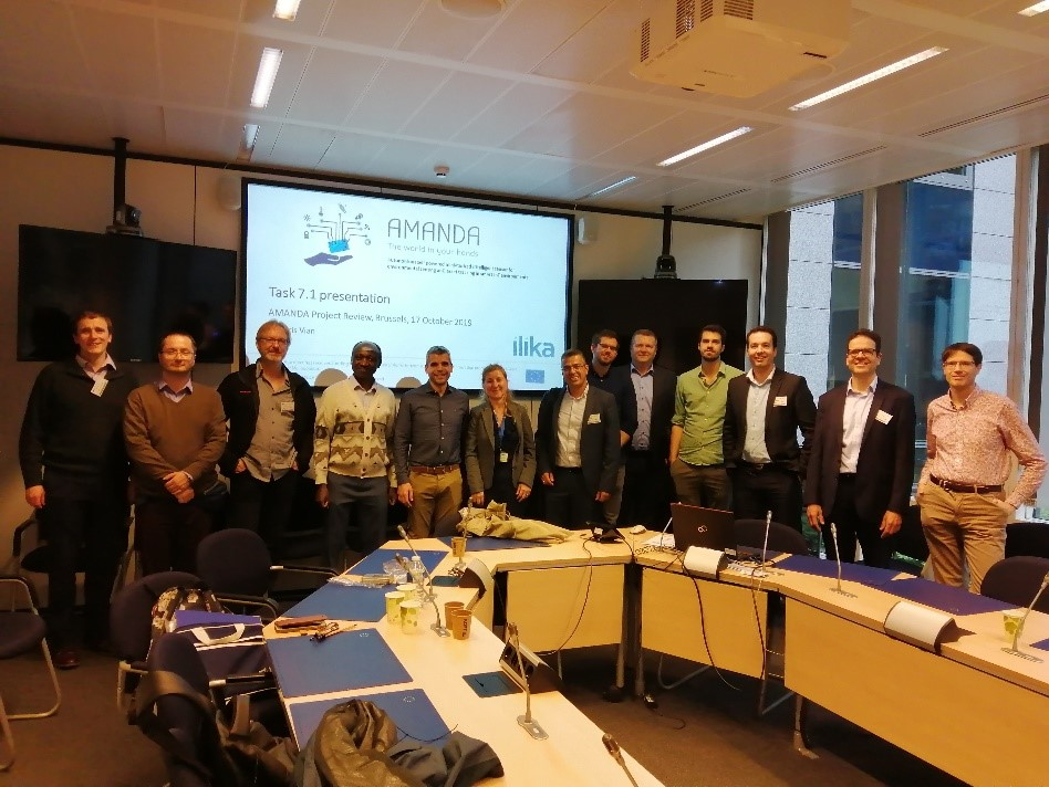 1st Review meeting in Brussels....